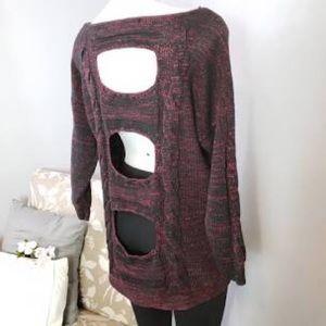 RACHEL Rachel Roy open Back Sweater